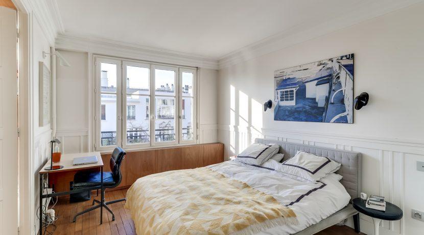 dernier etage paris - chambre1