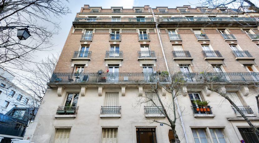 Dernier Etage Paris- immeuble