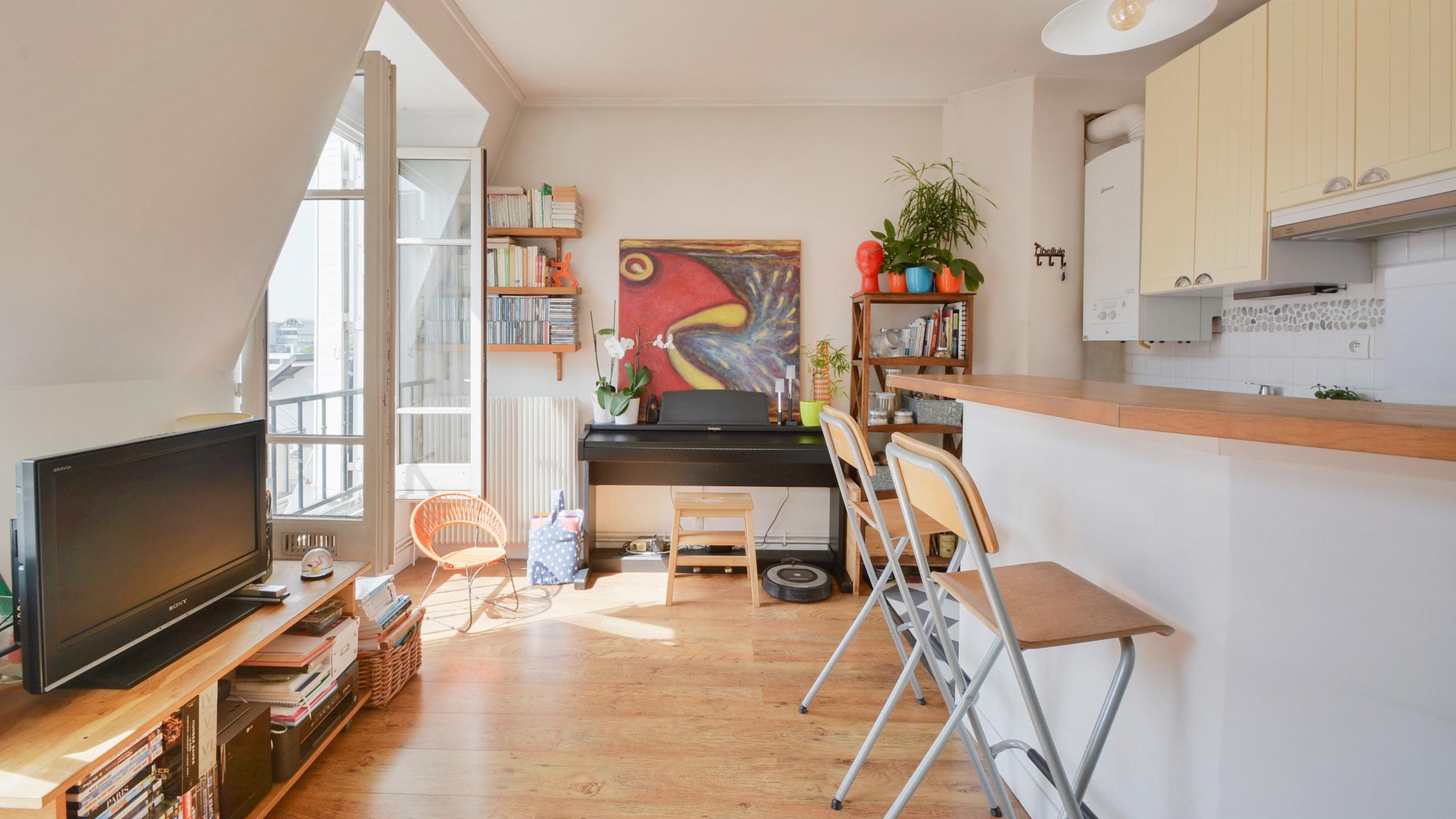 Appartement 3 pièces, 44 m<sup>2</sup>  (75012) # attention, une pépite peut en cacher une autre !