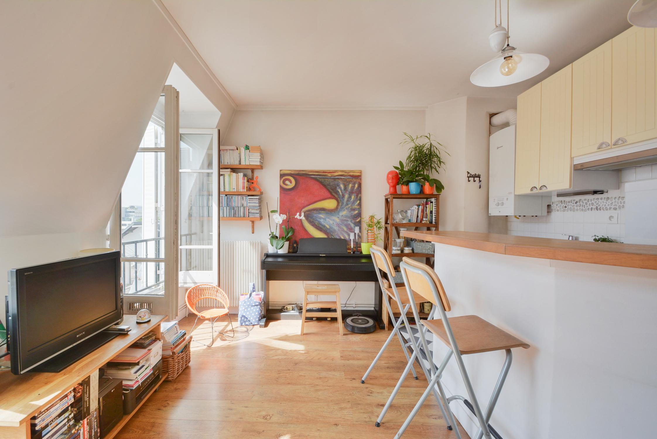 Appartement 3 pièces, 44 m2  (75012) – attention, une pépite peut en cacher une autre !