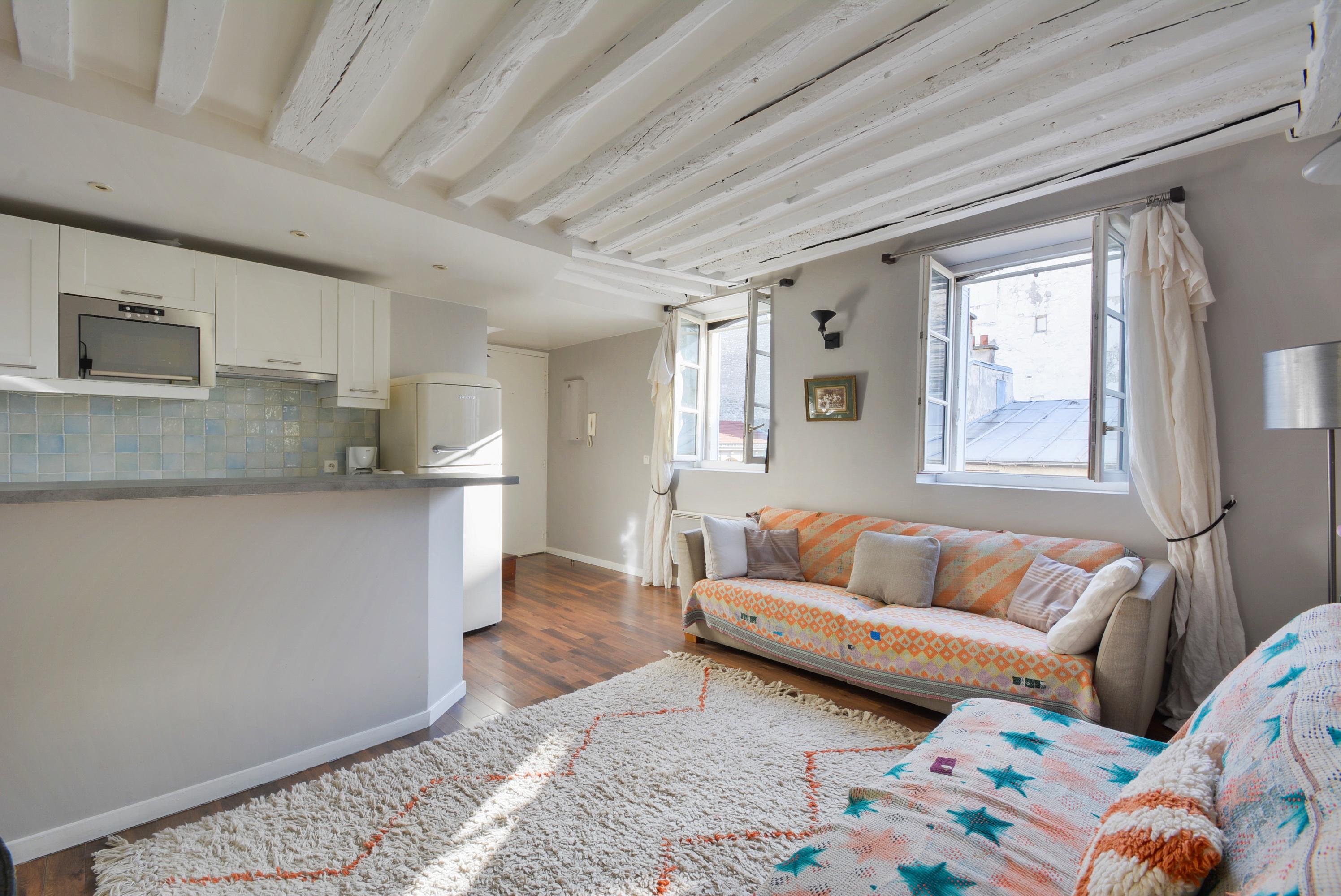 Arts et Métiers # Duplex sous les toits # Paris est à vous