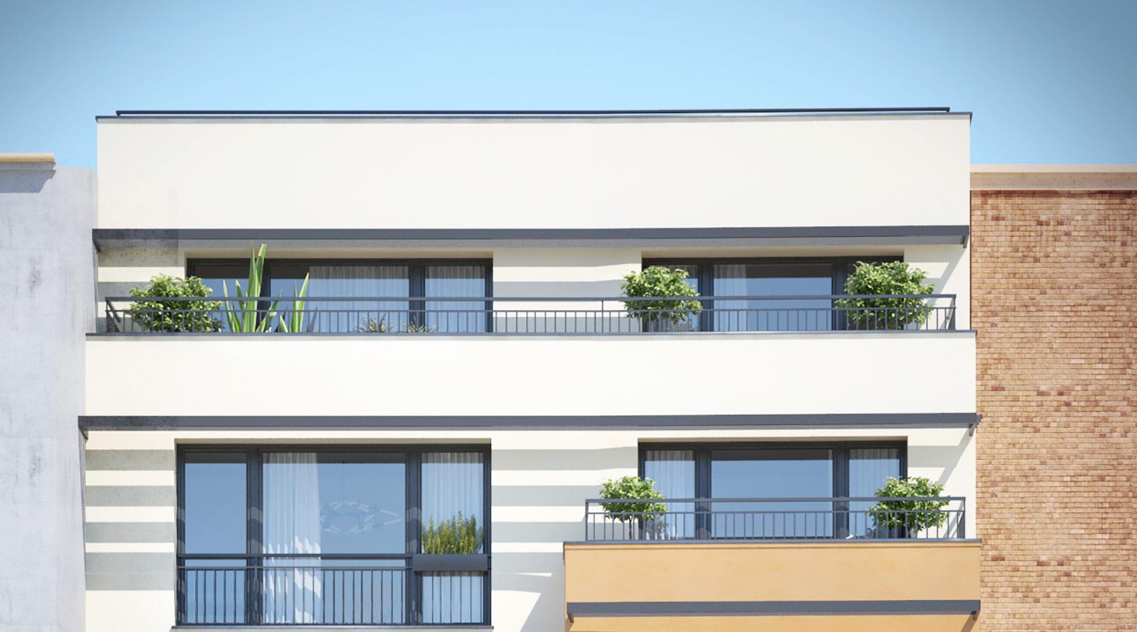 Superbe dernier étage de 3 pièces avec terrasses # livraison 1er trim 2019  # Montreuil