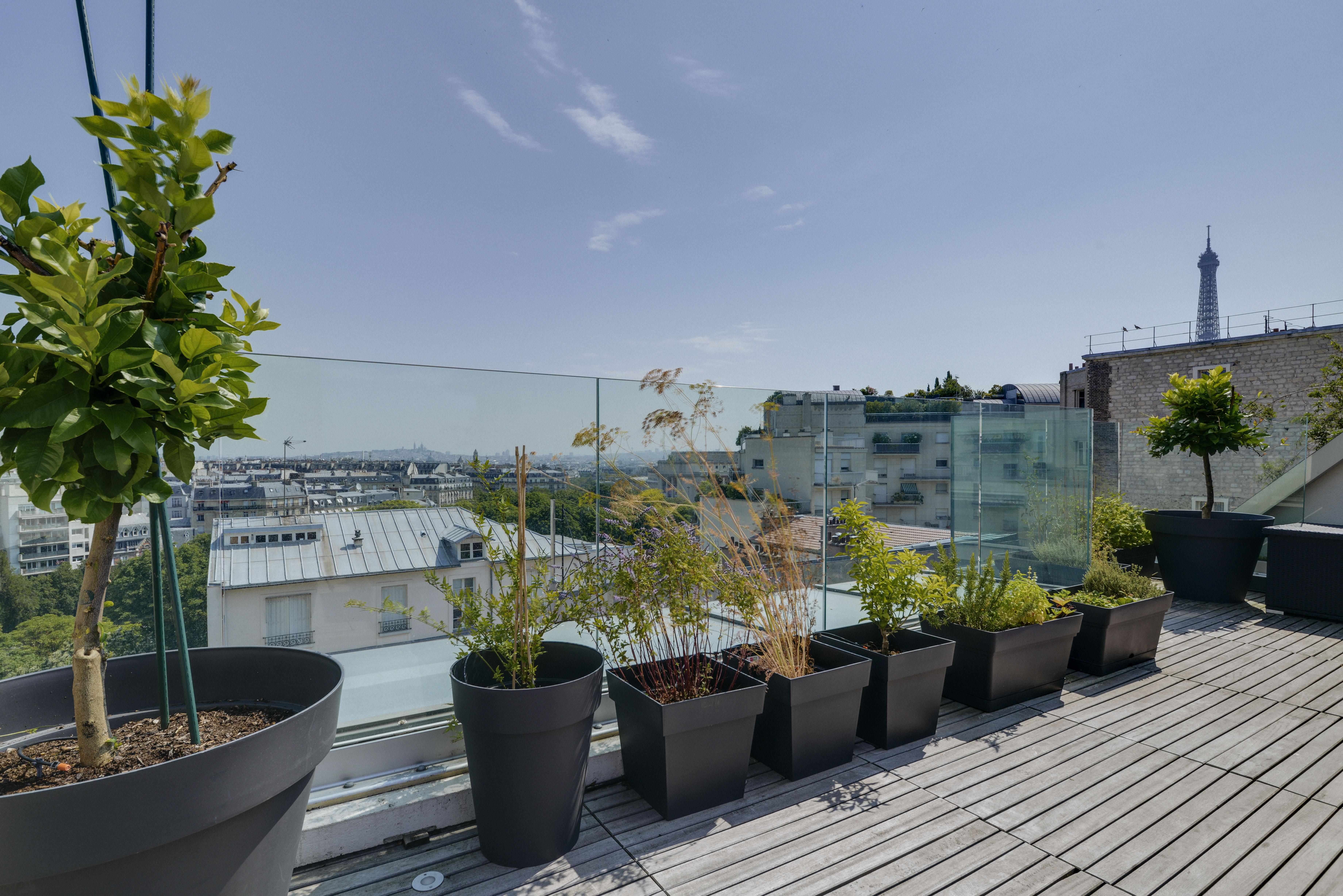 Trocadéro # extraordinaire Penthouse contemporain # moment de grâce
