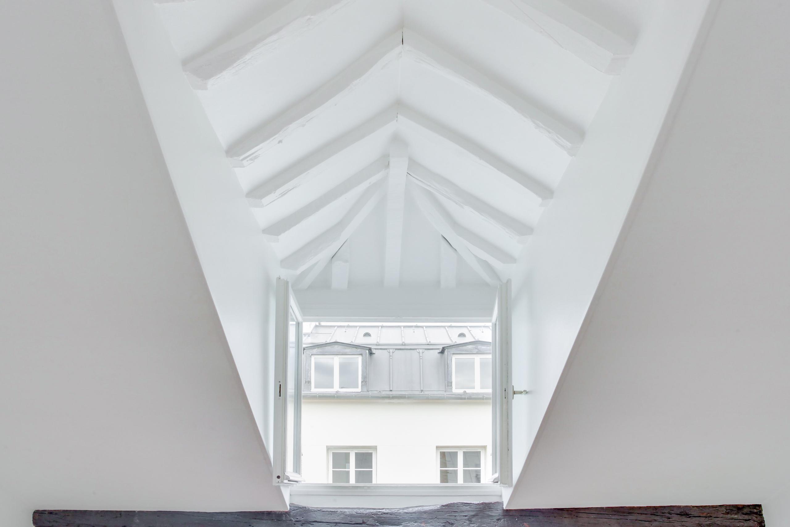Temple # dernier étage avec terrasse # projection maximale