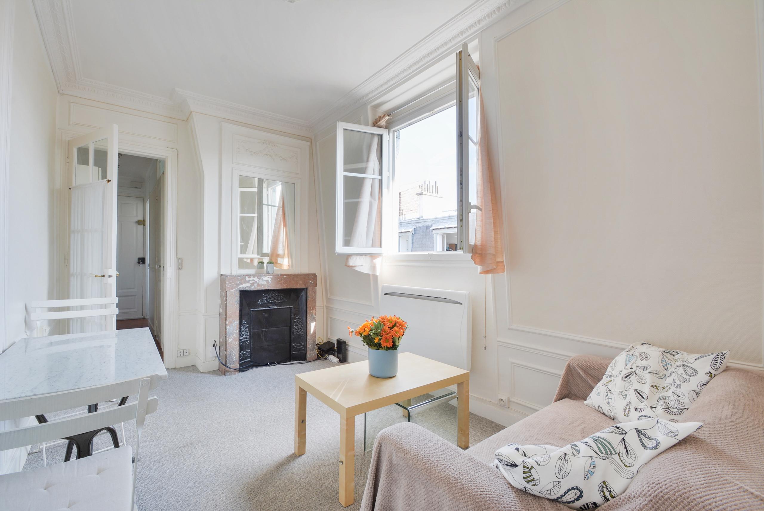 Fenêtres sur cour#charmant appartement#Paris 12ème