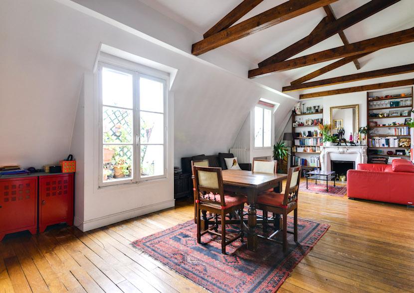 Appartement familial en dernier étage # idéal !