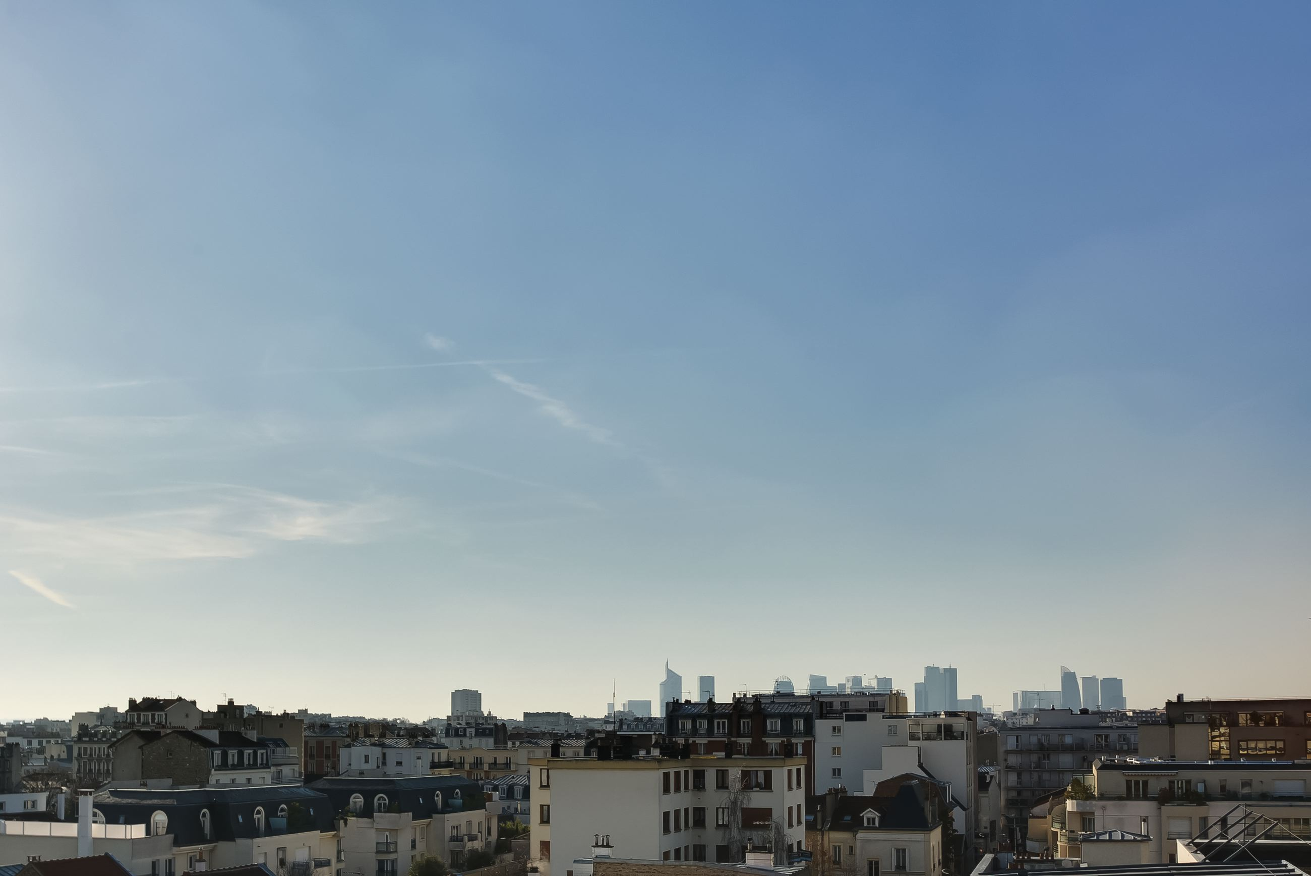 Dernier etage-parisvue paris