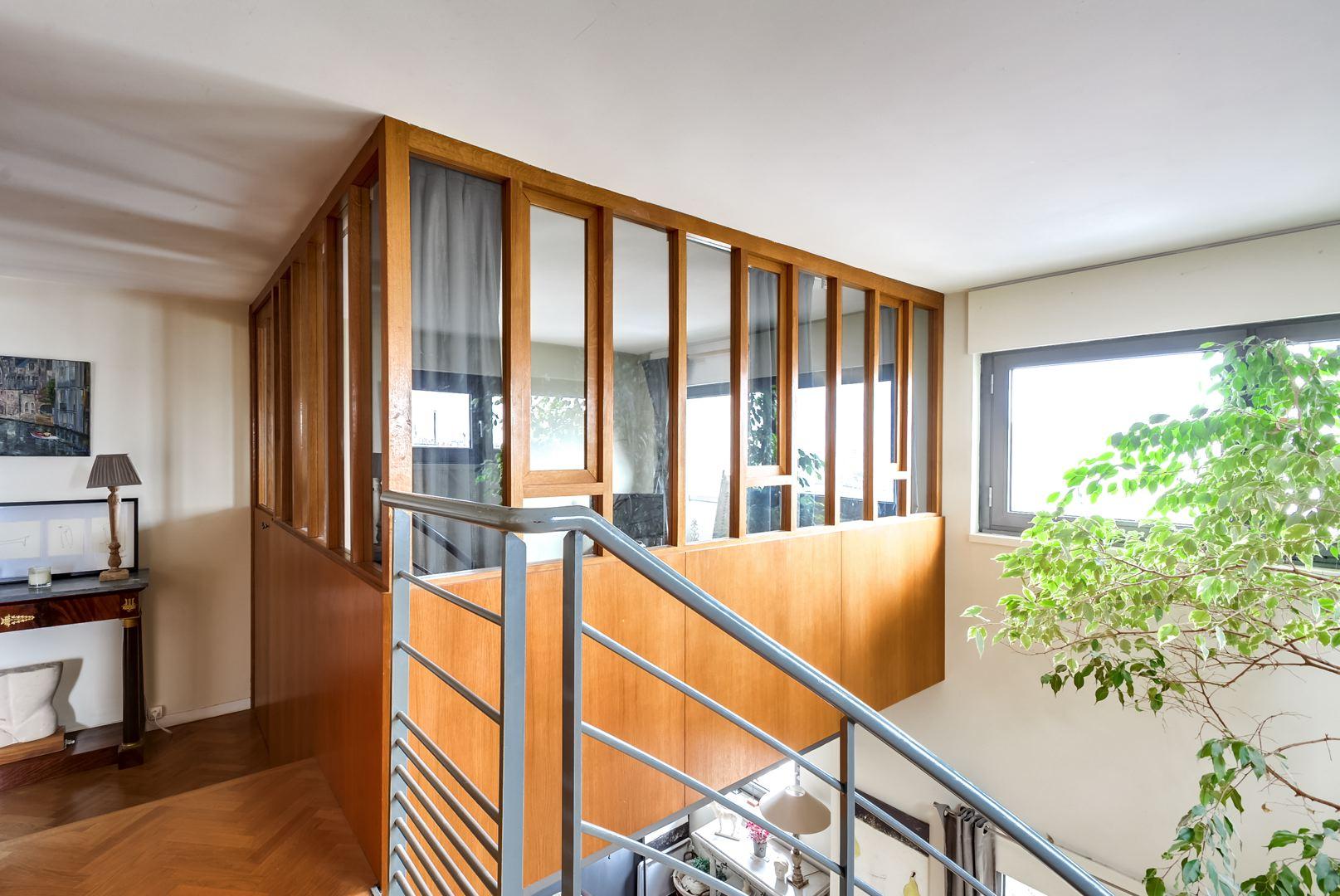 Dernier etage paris chamb