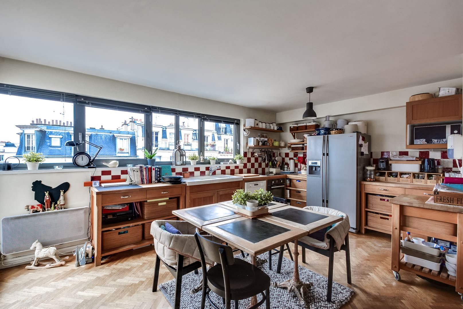 Dernier etage paris cuisine